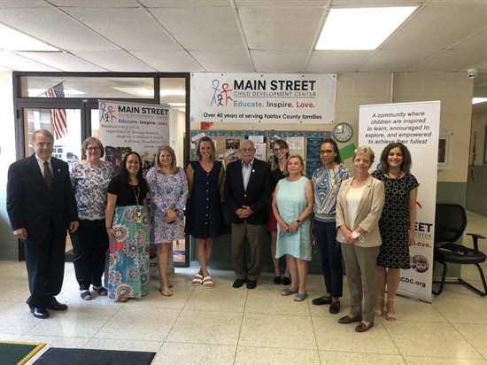 Community Events-Supporting funding for Daycare Provides with   Gerald E. Connolly Member of Congress